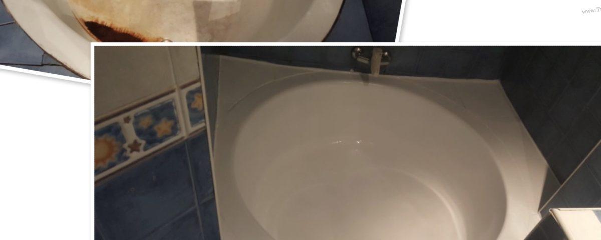 Esmaltar bañera Barcelona en una sola sesión